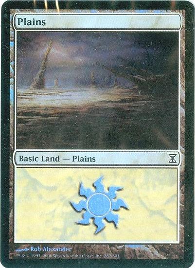 "2007 MTG ""Plains"" FOIL GAMING CARD - MINT"