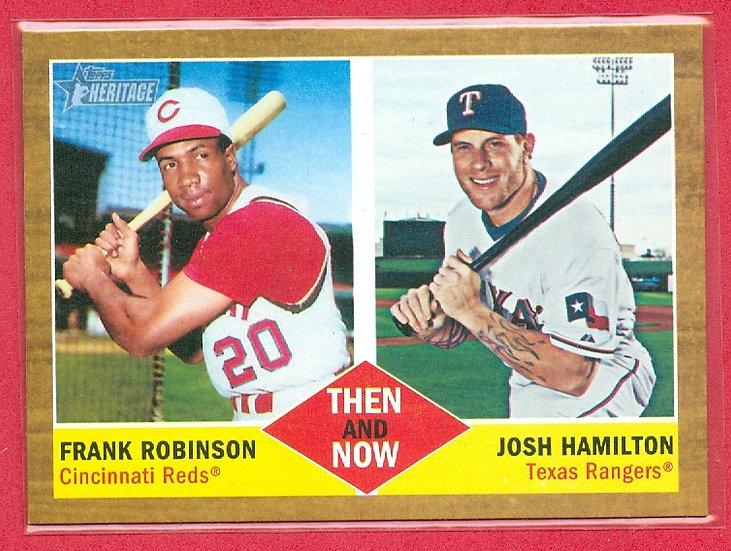 """Frank Robinson/Josh Hamilton"" SP CHASE CARD #TN-3"
