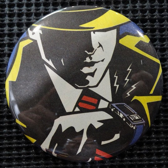"""DICK TRACY"" POP CULTURE 3"" PINBACK/PIN-BACK COMIC BUTTON"