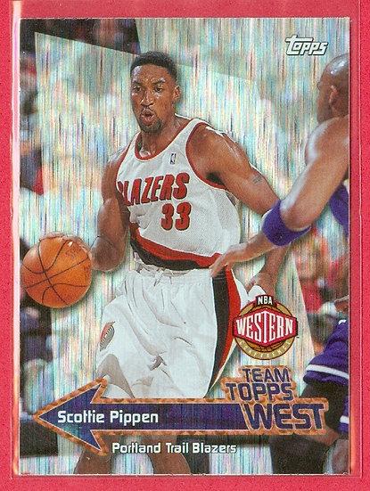 """""""Scottie Pippen"""" HOF - HOLO-FOIL CHASE CARD #TT-18"""
