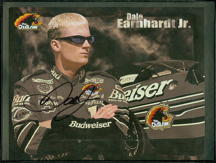 """Dale Earnhardt Jr"" AUTOGRAPH HERO/PROFILE CARD"