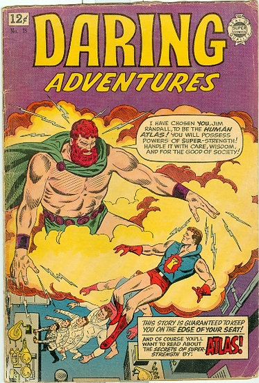 1964 DARING ADVENTURES #18 ATLAS & GENTLEMAN JACK