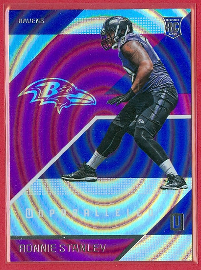 Ronnie Stanley 2016 UNPARALLELED PURPLE RC #187