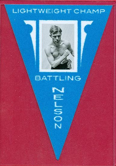 """""""Battling Nelson"""" SSP BOX TOPPER PENNANT CARD #5"""
