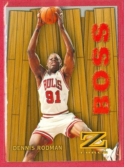 """""""Dennis Rodman"""" HOF - EMBOSSED CHASE CARD #17-B"""