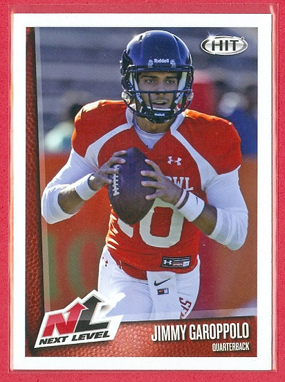 Jimmy Garoppolo 2014 SAGE HIT COLLEGE RC CARD #60