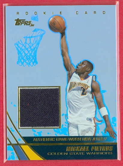 """Mickael Pietrus"" SP ROOKIE GAME JERSEY RELIC CARD"