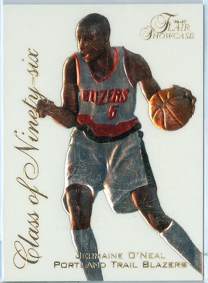 """Jermaine O'Neal"" SP ""CLASS OF '96"" RC CARD #16"