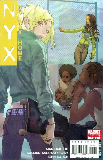"2008 ""NYX NO WAY HOME"" #1 TEENS & MONSTERS!!"