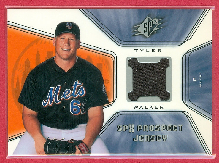"""Tyler Walker"" SP RC JERSEY RELIC CARD #125"