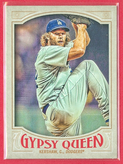 """Clayton Kershaw"" 2016 TOPPS GYPSY QUEEN CARD #144"