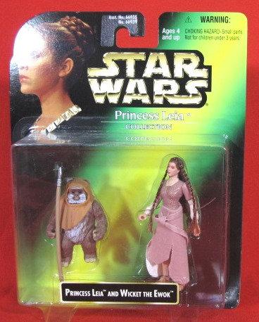 """Princess Leia & Wicket"" STAR WARS ACTION FIGURE"