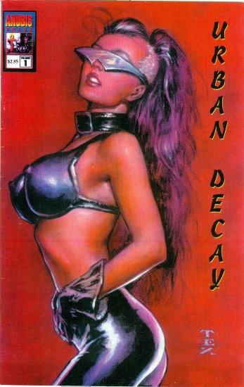 1994 URBAN DECAY #1 Mark Texeira COVER ART!!
