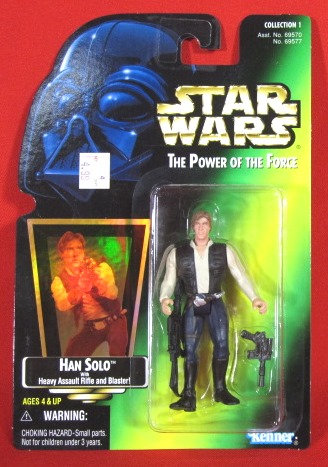 """Han Solo Rifle & Blaster"" STAR WARS ACTION FIGURE"