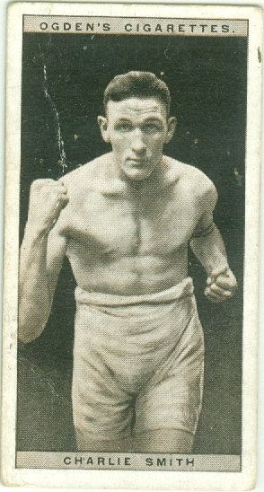 1928 OGDEN'S Charlie Smith BOXING TOBACCO CARD #40