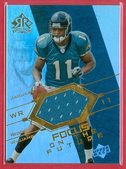 """""""Reggie Williams"""" GAME JERSEY CHASE CARD #FO-RE"""