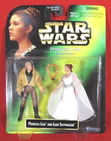 """Princess Leia & Luke"" STAR WARS ACTION FIGURE"