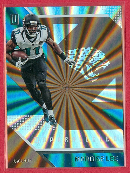 """""""Marqise Lee"""" 2016 UNPARALLELED BRONZE CARD #141"""