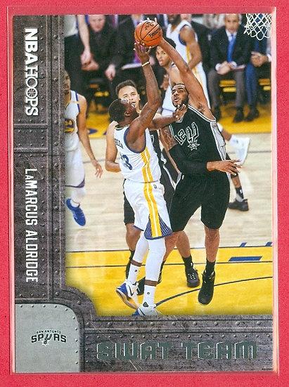 LaMarcus Aldridge NBA HOOPS SP SWAT TEAM CARD #13