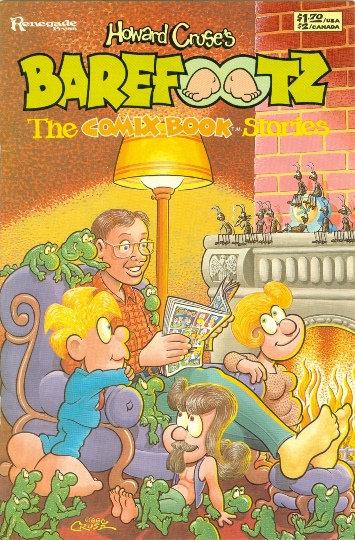 "RENEGADE PRESS 1986 Howard Cruse's ""BAREFOOTZ"" #1"