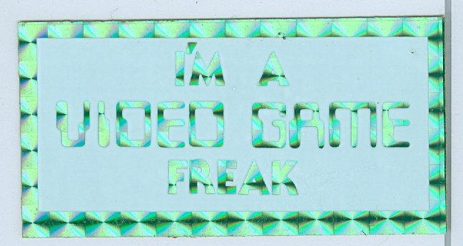 1970's/'80's PRISM/IRIDESCENT FOIL STICKER