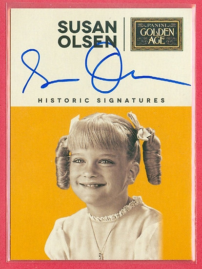 """""""Susan Olsen"""" SP AUTOGRAPH CHASE CARD"""