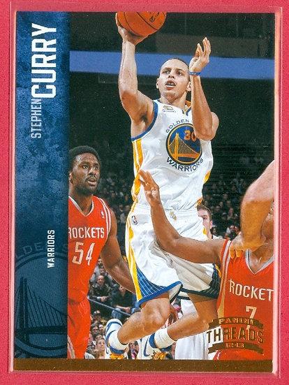 """Stephen """"Steph"""" Curry 2012-13 THREADS CARD #41"""