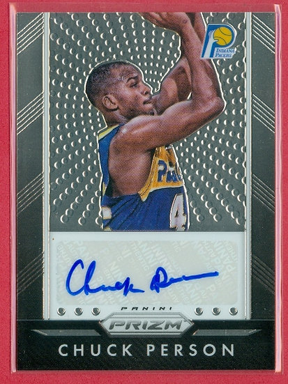 """Chuck Person"" SP CHROME AUTOGRAPH CHASE CARD"
