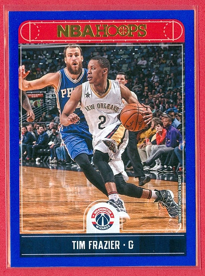 "Tim Frazier NBA HOOPS SP ""BLUE"" PARALLEL CARD #161"