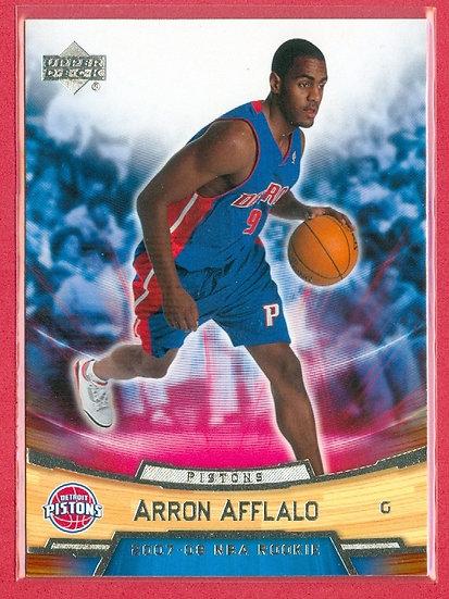 """Arron Afflalo"" UPPER DECK ROOKIE BOX SET CARD #1"