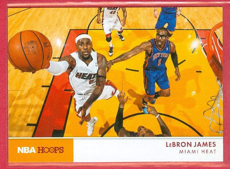 """LeBron James"" NBA HOOPS SP ACTION PHOTOS CARD #3"