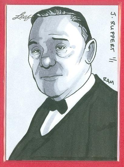 """""""Jake Ruppert"""" LEAF SSP 1/1 SKETCH ARTWORK CARD"""