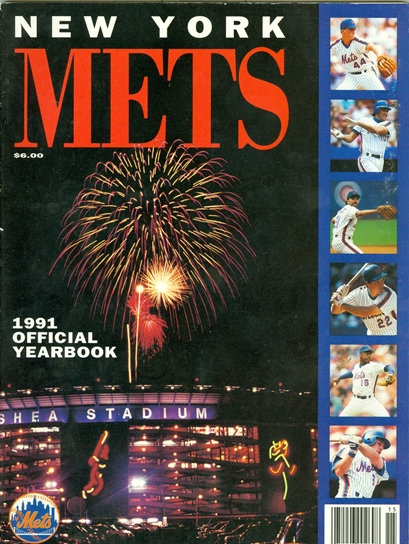 1991 NEW YORK METS OFFICIAL YEARBOOK