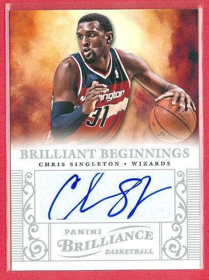 """Chris Singleton"" SP ROOKIE AUTOGRAPH CHASE CARD"