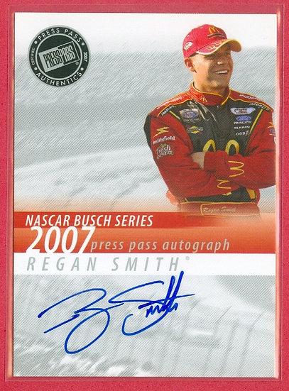 """""""Regan Smith"""" NASCAR SP AUTOGRAPH CHASE CARD"""