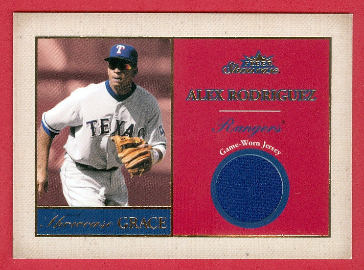 Alex Rodriguez JERSEY RELIC CHASE CARD #d 034/100