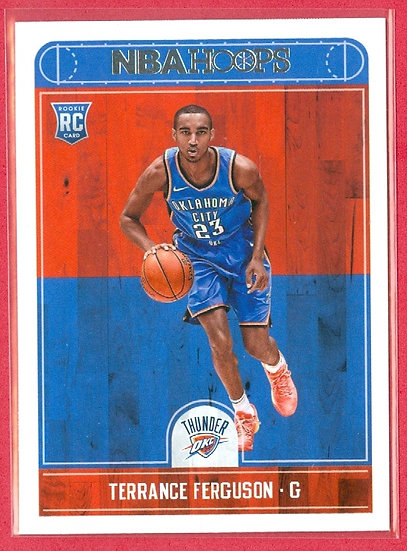 """Terrance Ferguson"" 2017-18 NBA HOOPS RC CARD #271"
