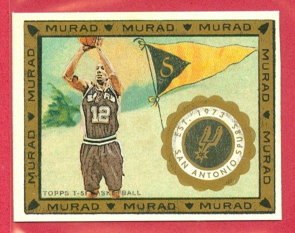 """Bruce Bowen"" T-51 MURAD MINI CHASE CARD #87"