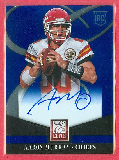 """""""Aaron Murray"""" SP RC AUTOGRAPH FOIL CHASE CARD"""