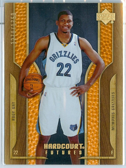 """Rudy Gay"" SP ROOKIE/RC CARD #d 1270/1750"