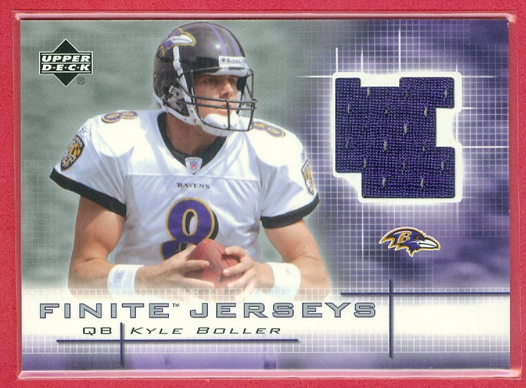 """Kyle Boller"" GAME JERSEY RC CHASE CARD #FJ-KB"