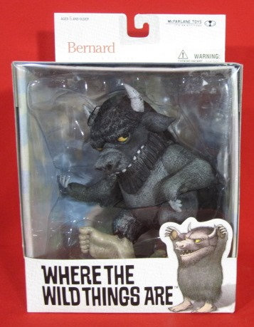 """BERNARD"" WHERE THE WILD THINGS ARE BOXED FIGURE"