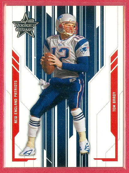 """Tom Brady"" 2005 ROOKIES & STARS CARD #57 PATRIOTS"