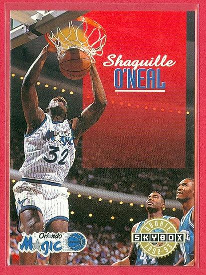 """Shaquille O'Neal"" HOF 1992-93 SKYBOX RC CARD #382"