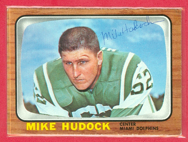 """""""Mike Hudock"""" IN PERSON/THROUGH THE MAIL AUTO"""