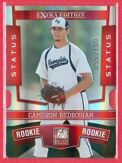 """""""Cameron Bedrosian"""" RC FOIL CARD (#121) #d 055/100"""