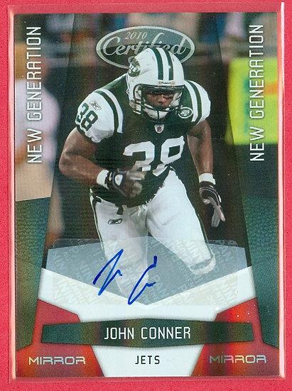 John Connor SP RC AUTO MIRROR FOIL CARD #d 143/250