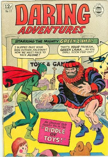 1964 DARING ADVENTURES #17 - The GREEN LAMA