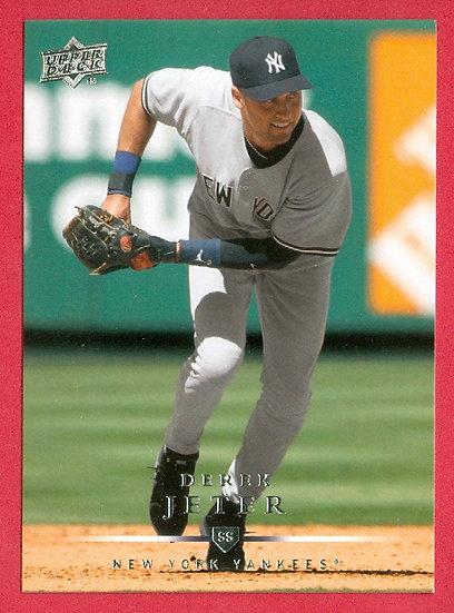 """Derek Jeter"" 2008 UPPER DECK CARD #279 NYY"