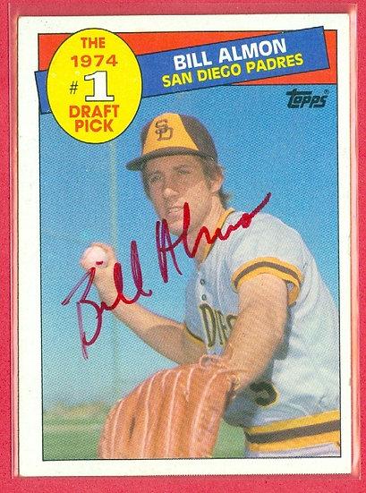 """Bill Almon"" IN PERSON/THROUGH THE MAIL AUTO CARD"